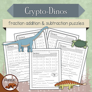 Crypto-Dinos Addtion & Subtraction