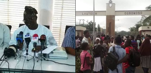ASUU AND LAUTECH CLASH OVER NEW RESUMPTION DATE FOR THE SCHOOL.