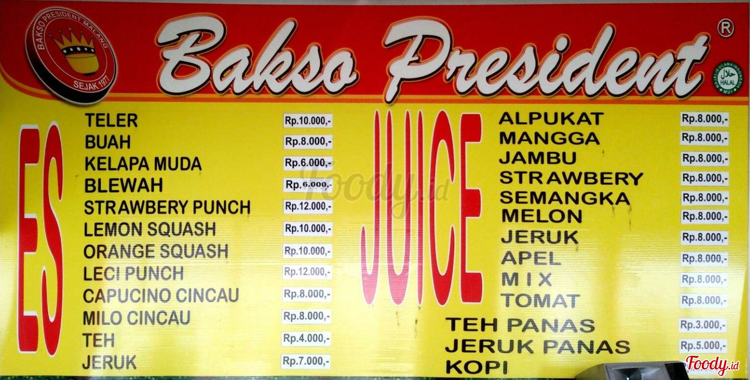 Makan Bakso President di Tepi Rel Kereta Api Malang
