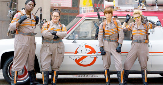 The Ghostbusters are Women Now.
