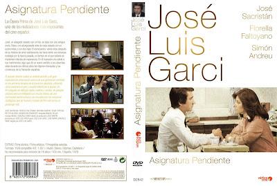 Carátula dvd: Asignatura pendiente (1977)