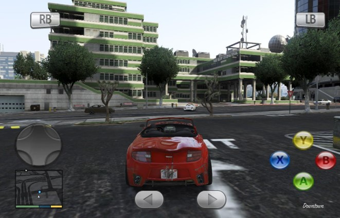 GTA 5 For Android Apk + Data ukuran kecil