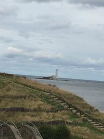 St Mary Lighthouse Whitley Bay coast