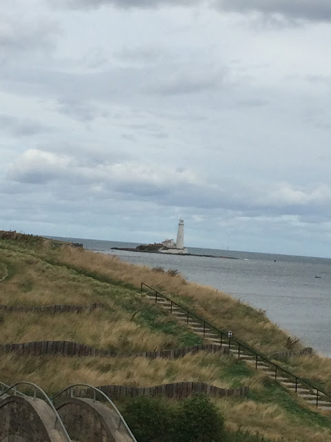 St Mary Lighthouse Whitley Bay coast