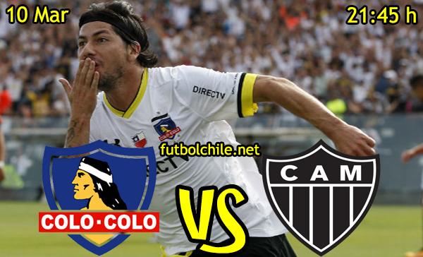 VER STREAM YOUTUBE RESULTADO EN VIVO, ONLINE: Colo Colo vs Atlético Mineiro