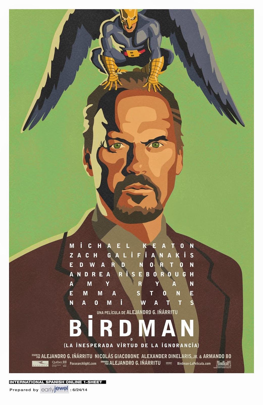 Crítica Daquele Filme: Birdman ou (A Inesperada Virtude da Ignorância)