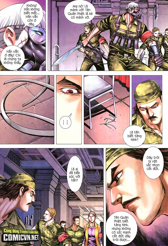 Đại Quân Phiệt chap 12 trang 22