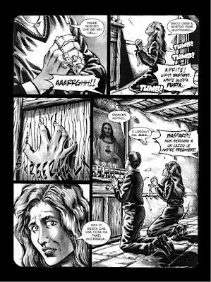 """Horrorville, tavola tratta da """"La luna cannibale"""""""