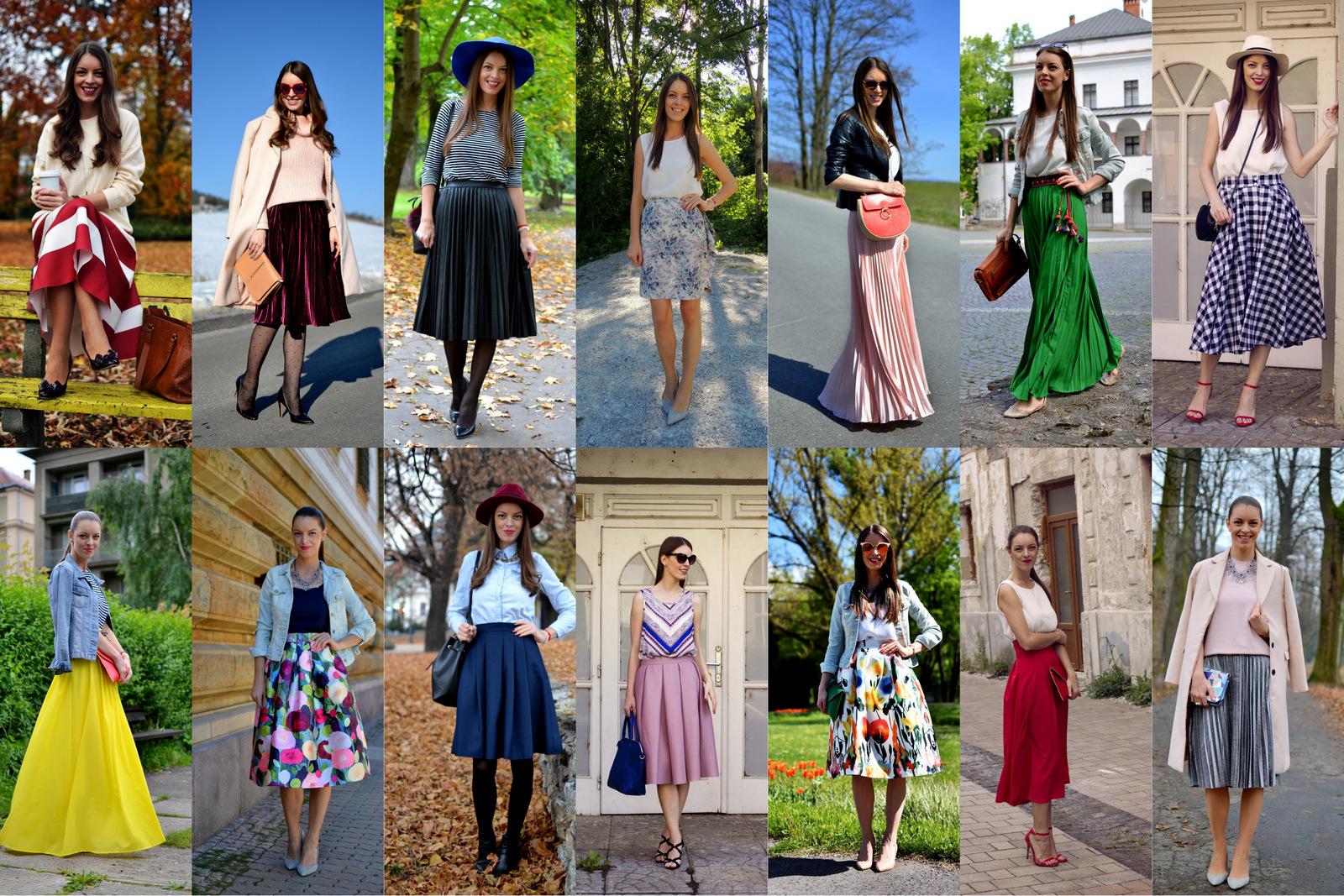 všetko čo ste chceli vedieť o sukni // everything about skirts
