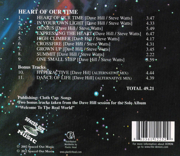 DEMON - Heart Of Our Time [remastered +2] back