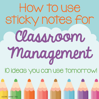 classroom management, post it notes in the classroom, post it note classsroom management, blurting out, chill pass, mystery reward class, student grouping, using post it notes in special education, easy classroom management, new teacher tips, ideas for new teachers, classroom management for new teachers