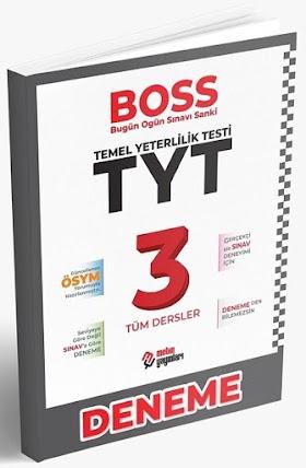 Metin TYT Boss 3 Genel Deneme PDF indir