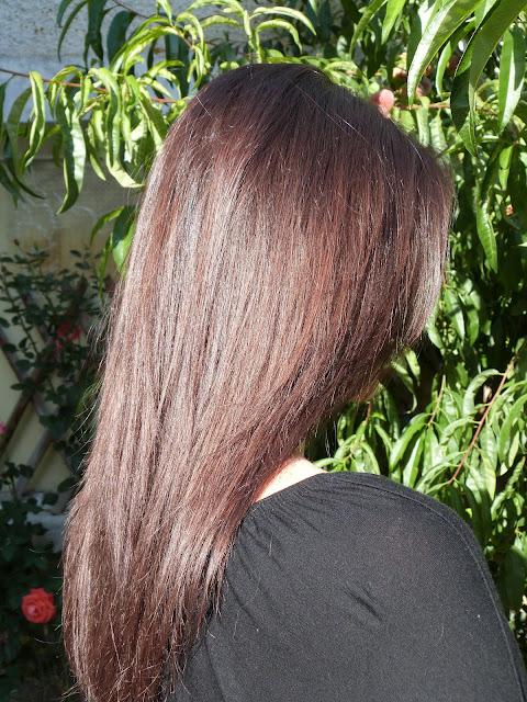résultat colo l'oréal casting marron glacé