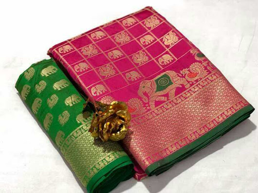 JD Hathi Patola Saree Latest Design - Vastra Fashion