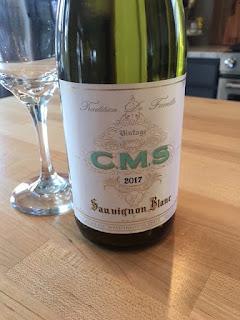 2017 CMS Sauvignon Blanc close up