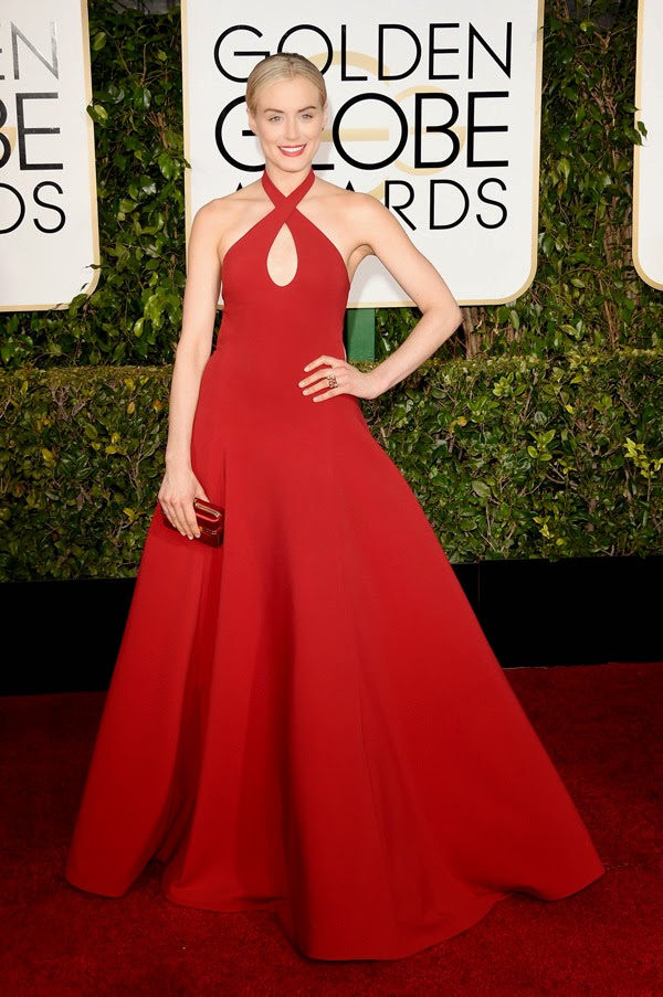 Taylor-Shilling-Golden-globes-2015-red-carpet