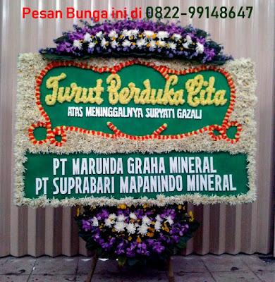 Bunga Duka Cita di Jakarta Pusat