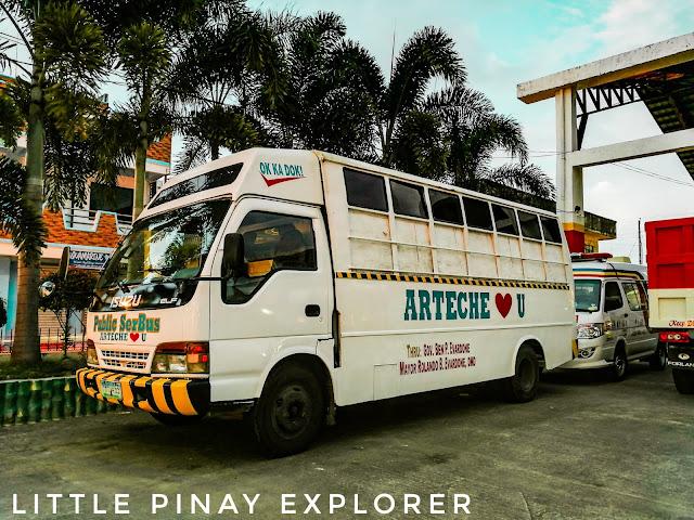 Arteche eastern samar, ambulance, mobile clinic, samar