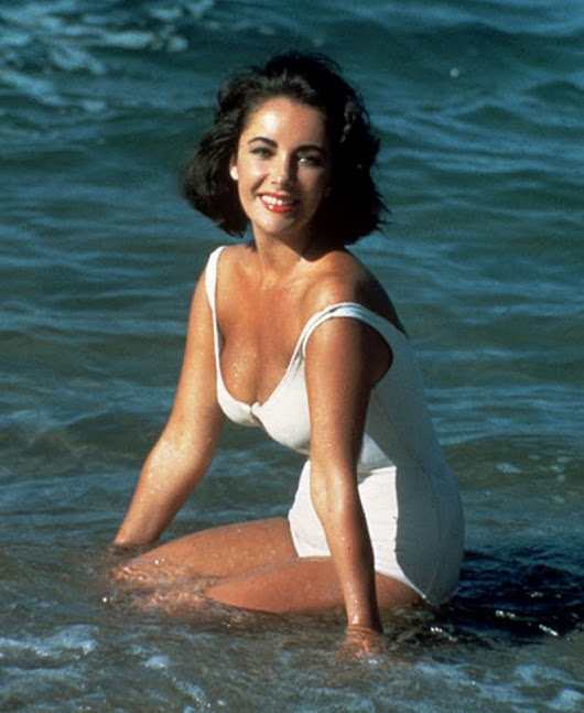 Vintage Photos of Elizabeth Taylor in Bathing Suits | Lightning Photographer