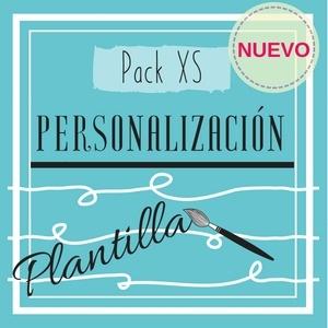 Pack XS (Personalización de plantilla)