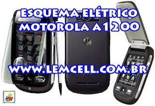 Esquema Elétrico Celular Smartphone Motorola A1200 Manual de Serviço  Service Manual schematic Diagram Cell Phone Smartphone Motorola A1200