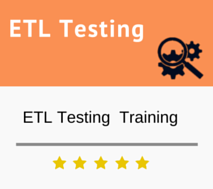 ETL Testing & Database Testing Training