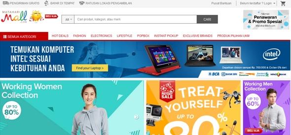 Matahari Mall Online Shop