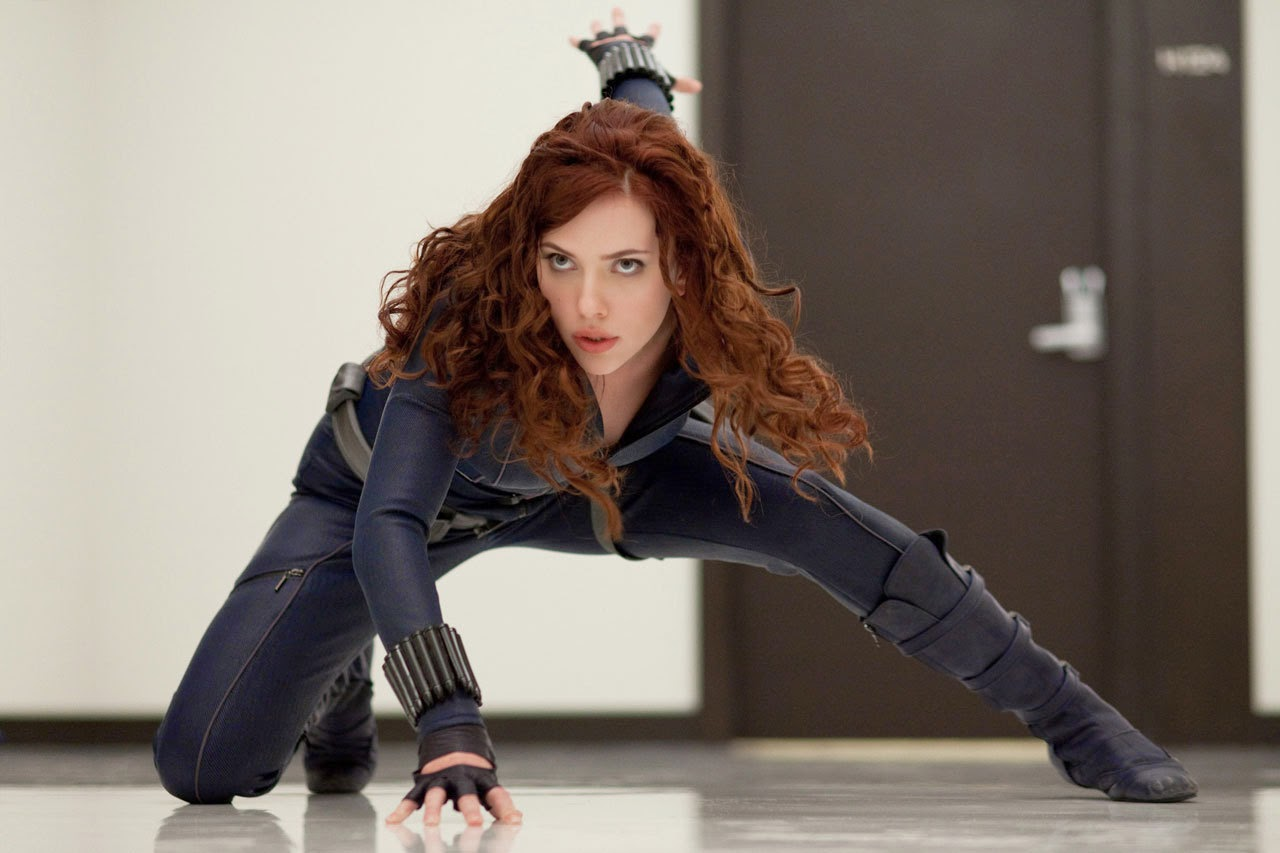 Iron Man 2 Scarlett Johansson as Black Widow