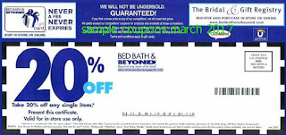 Bed Bath and Beyond coupons march 2017