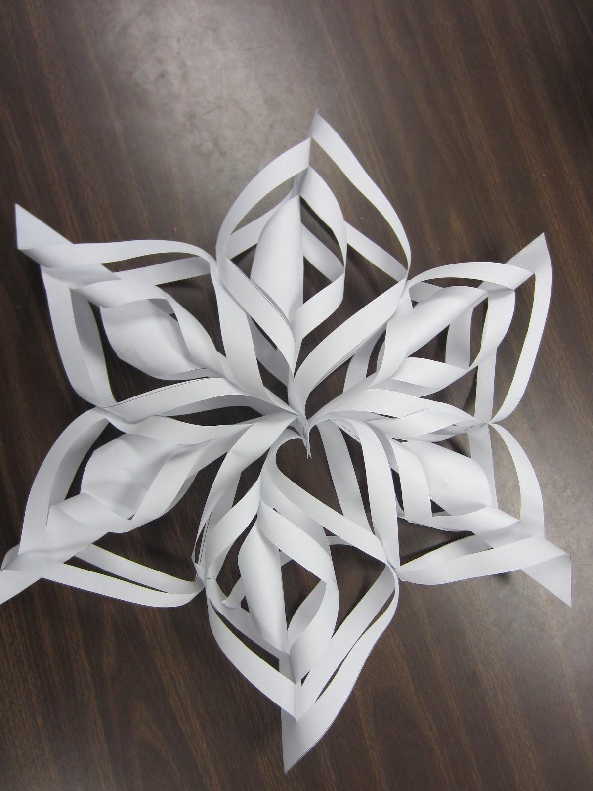 Simply The Classroom Handmade Snowflakes