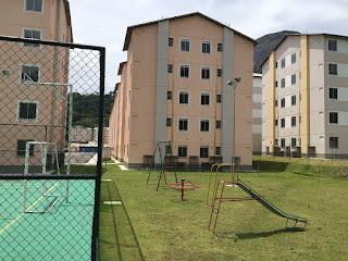 Conjunto habitacional na Fazenda Ermitage: 95% das obras concluídas
