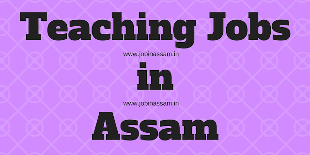 Teaching jobs in Assam