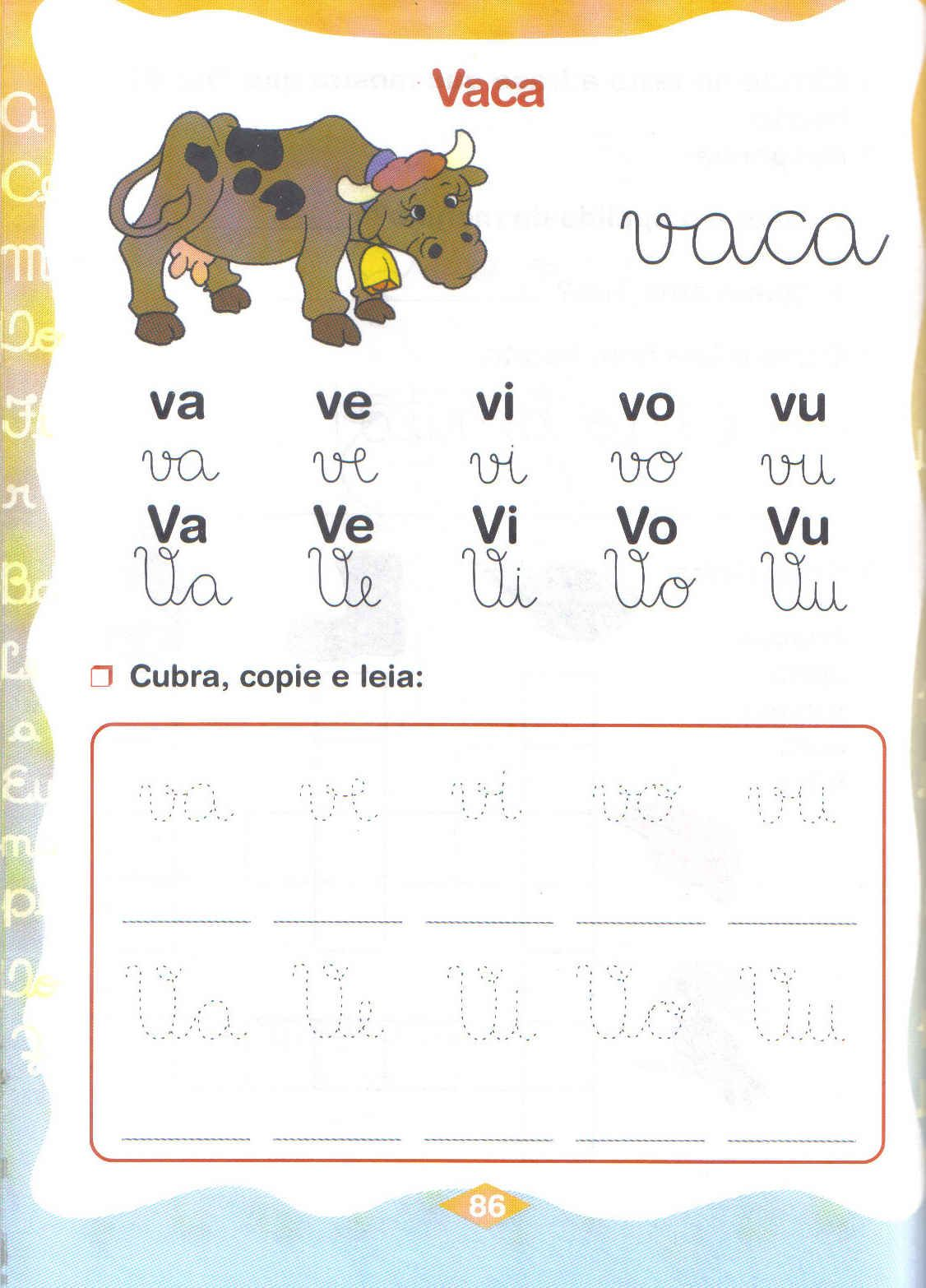 alfabetização séries iniciais