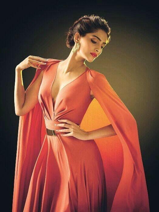 Sonam Kapoor's L'Oreal Paris Print Ad Photos