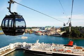 sentosa island, pulau sentosa, cara pergi, kereta gantung, tempat wisata, singapore, singapura
