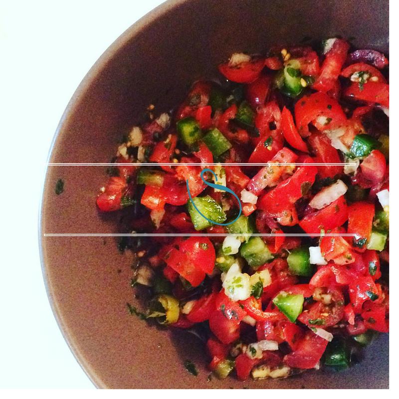 #Spicy homemade salsa | Salsa maison épicée