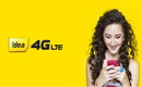 1.5GB 4G data per day for 70 days at Rs - 497 in Idea Cellular