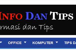 Blog Info Dan Tips