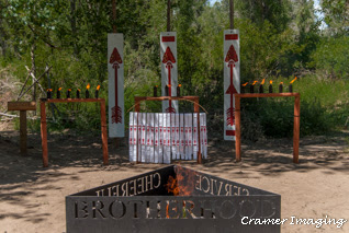 Cramer Imaging's photograph of the Order of the Arrow ceremony site at Krupp Scout Hollow in Rigby, Idaho