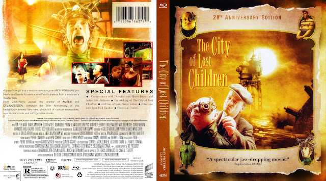The City Of Lost Children Bluray Cover