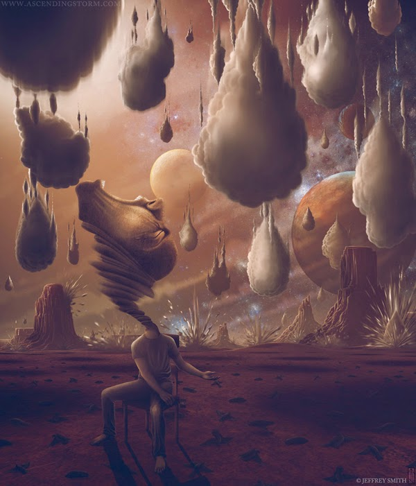 Lovely Surreal Digital Art by Jeffrey Smith