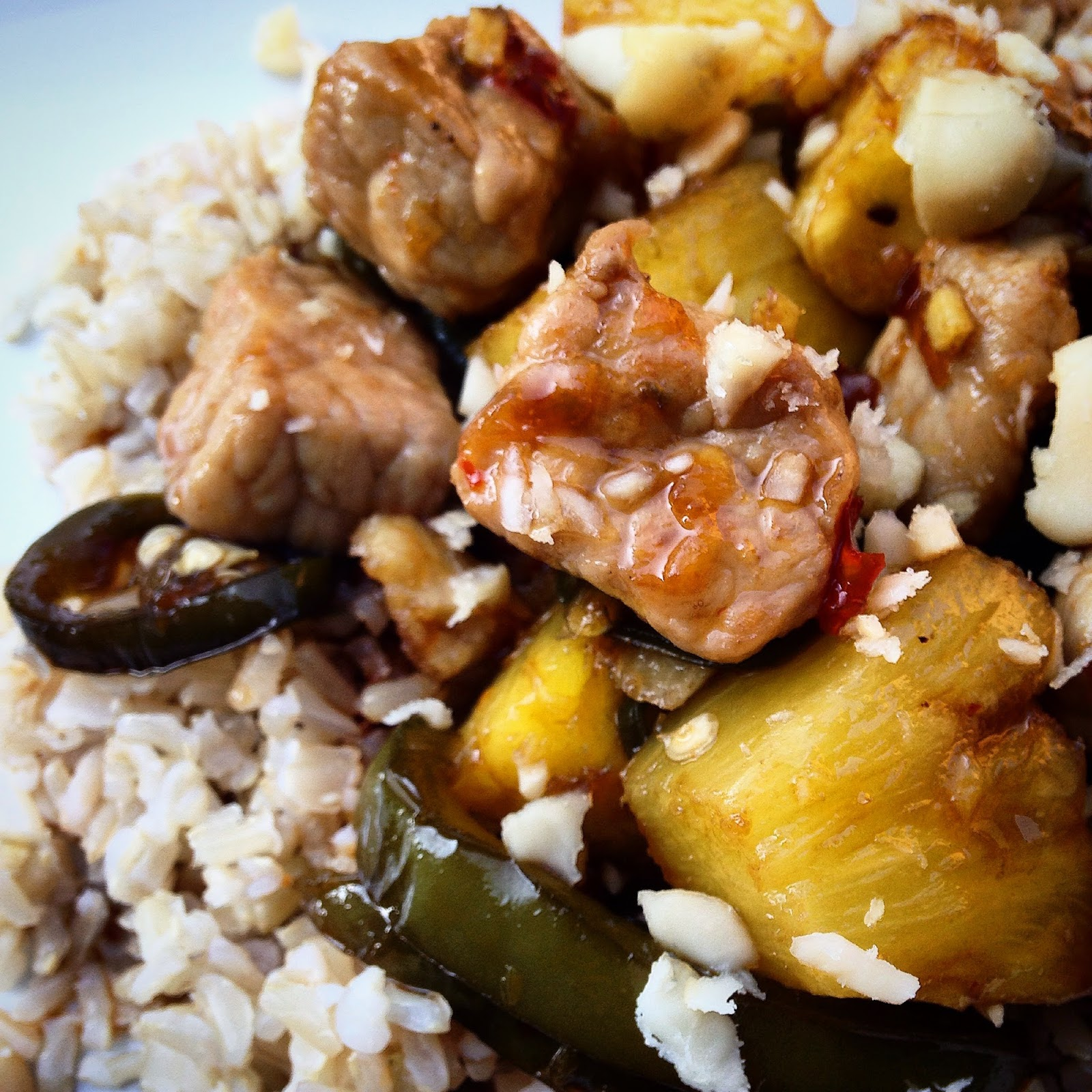 Cooking is Caring: Sweet and Spicy Pineapple Pork Stir-Fry