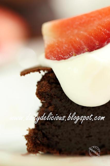 Flourless Chocolate Cake Protein Powder