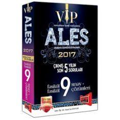 Yargı Yayınvi ALES VIP Fasikül Fasikül Son 5 Yılın Çıkmış 9 Sınav Soruları ve Çözümleri (2017)