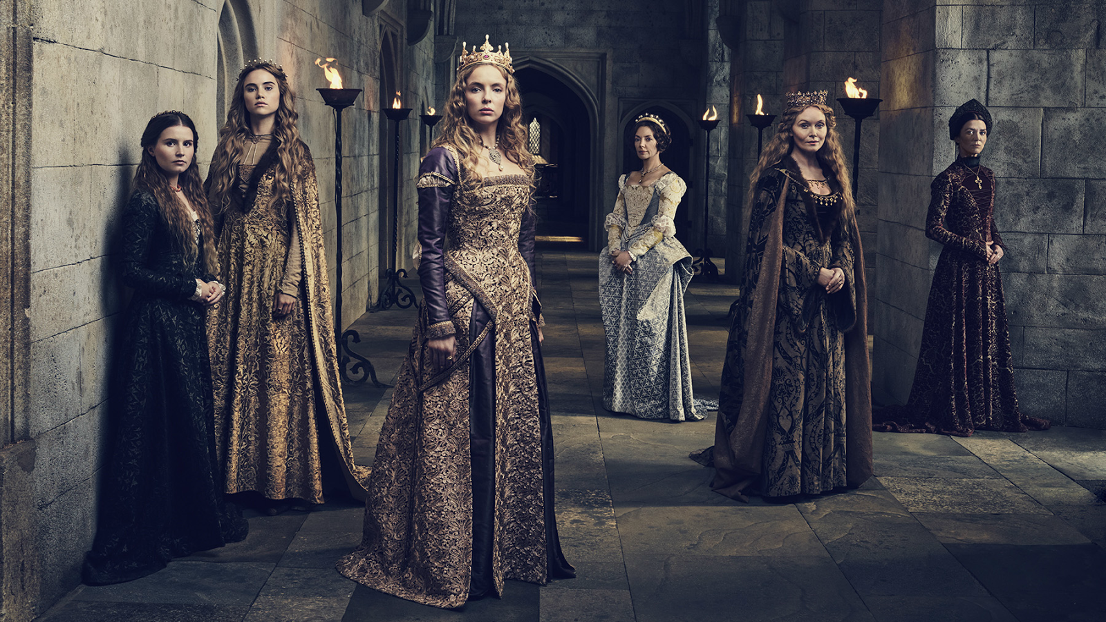 The women of The White Princess (Starz)