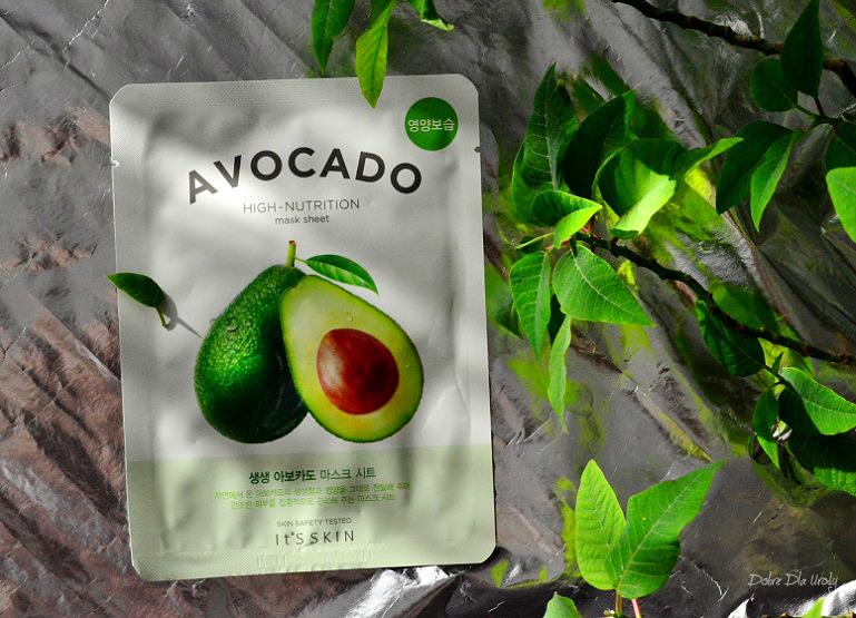 IT'S SKIN The Fresh Mask Sheet Avocado Odżywcza maseczka do twarzy w płachcie