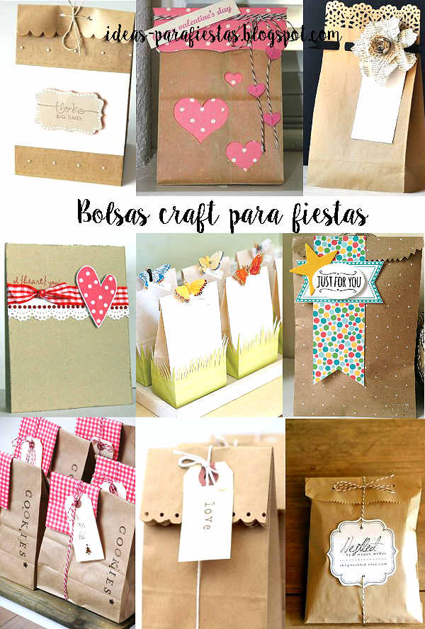 20 Bolsas Decoradas Para Regalo O Souvenir Tutoriales
