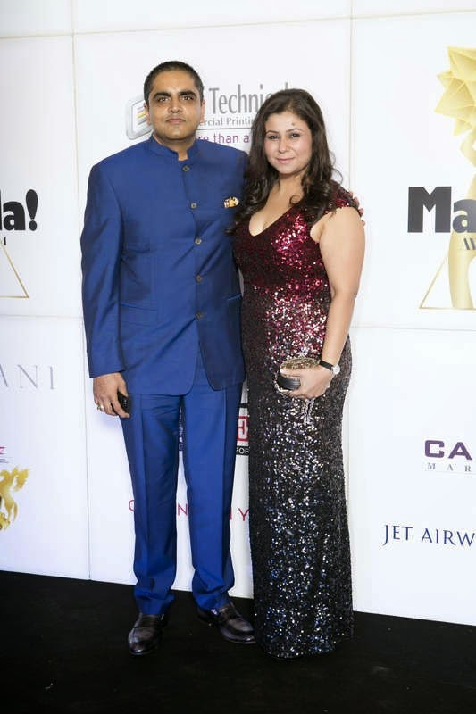 Dhiraj and Reema Saluja, Masala! Awards 2014 Photo Gallery