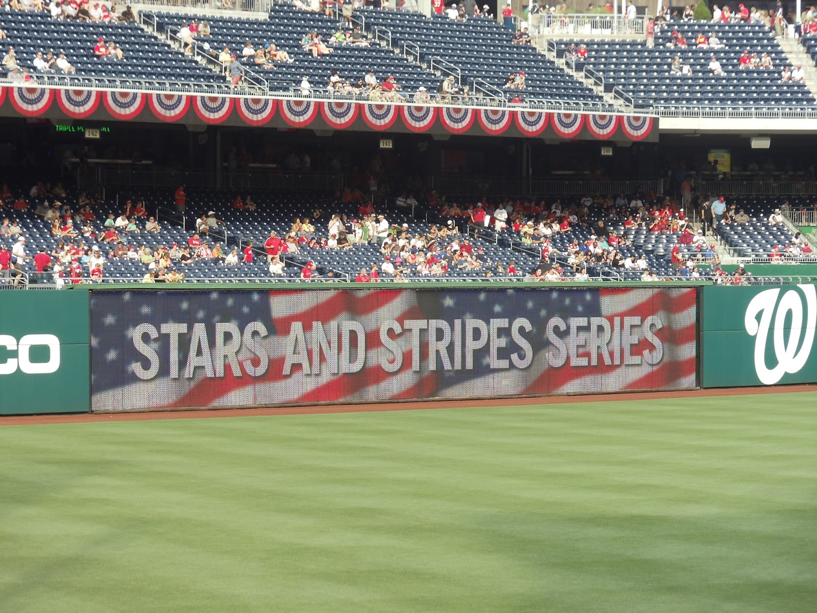 Nationals Park Stars and Stripes Series