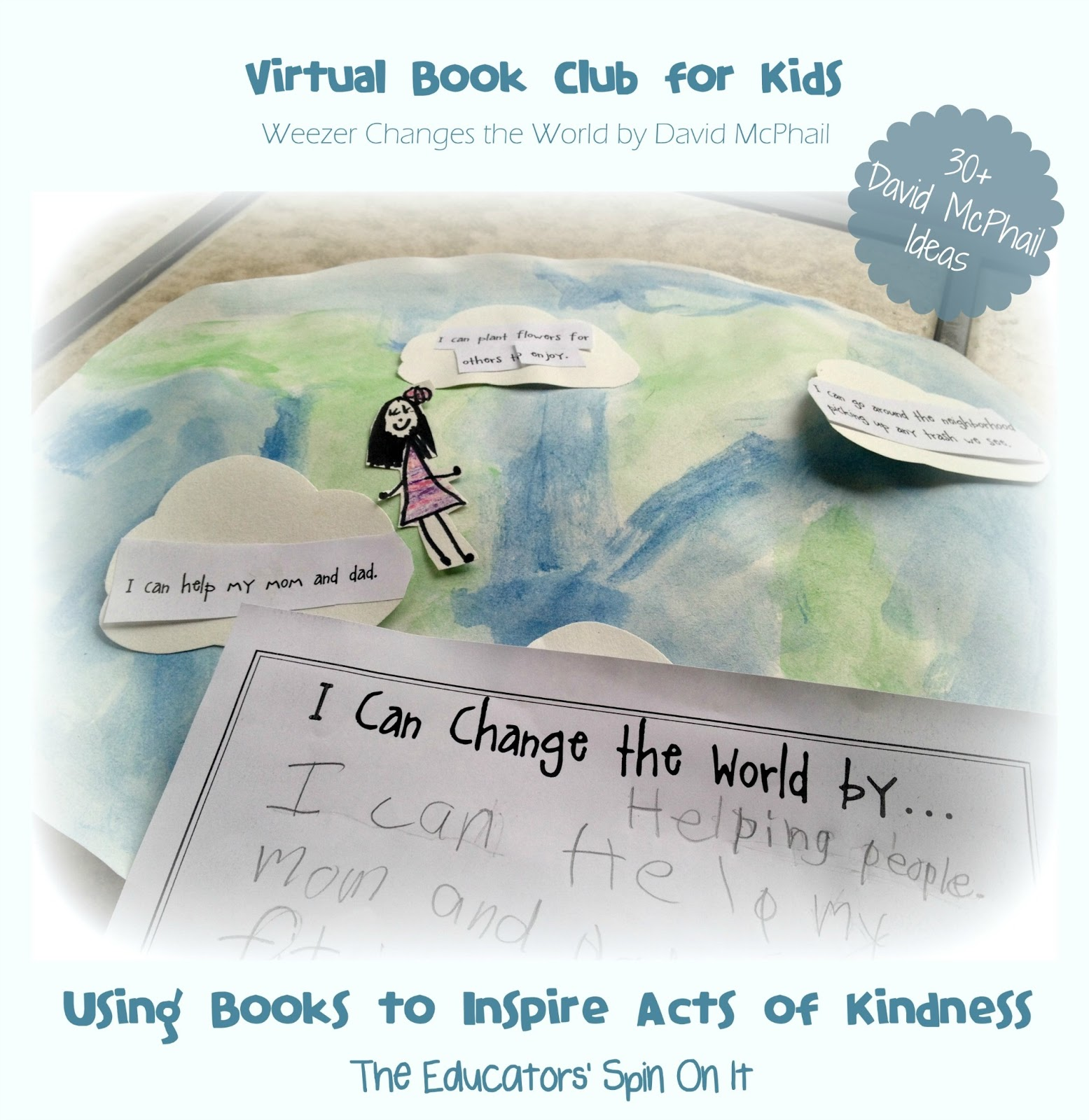 The Educators Spin On It David Mcphail Inspired Activities Virtual Book Club For Kids Blog Hop